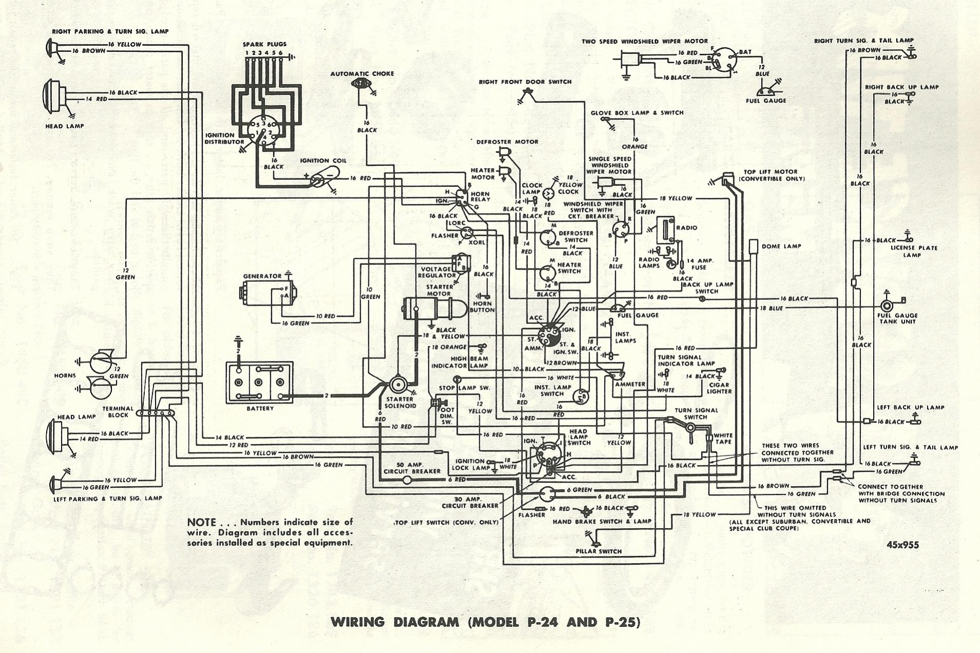 1949 packard wiring diagram th 0765  1953 plymouth wiring diagram schematic wiring diagram  1953 plymouth wiring diagram schematic