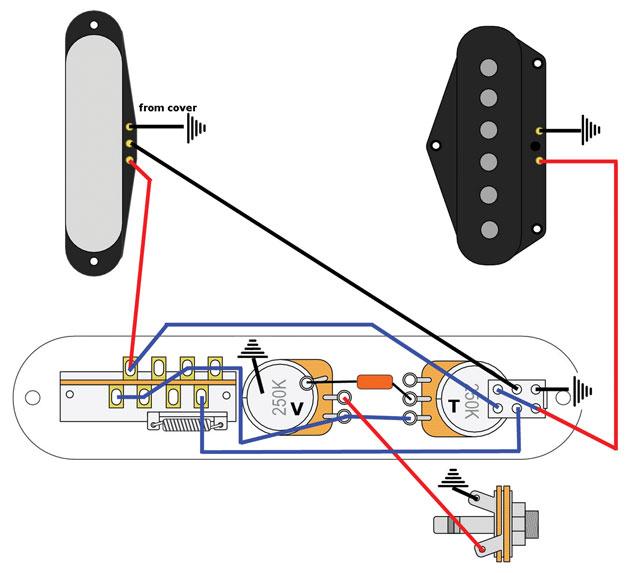 Tremendous Mod Garage Telecaster Series Wiring Premier Guitar Wiring Cloud Mousmenurrecoveryedborg