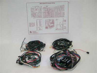 Miraculous 71 Wire Harness Set With Air Conditioning With Alarm Manual Wiring Cloud Rdonaheevemohammedshrineorg