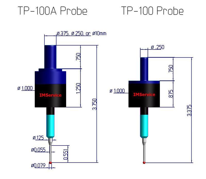 Cool Probe Tp100 Probe 1 4 Dia Solid Shank Wiring Cloud Rometaidewilluminateatxorg