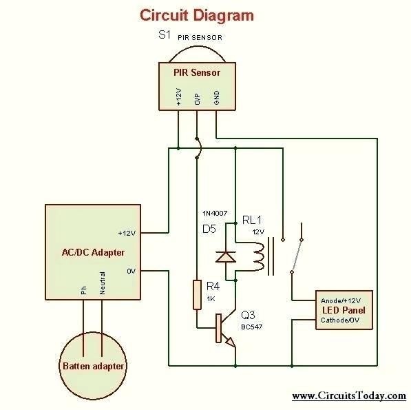 solar motion light wiring diagram 1951 chevrolet wiring