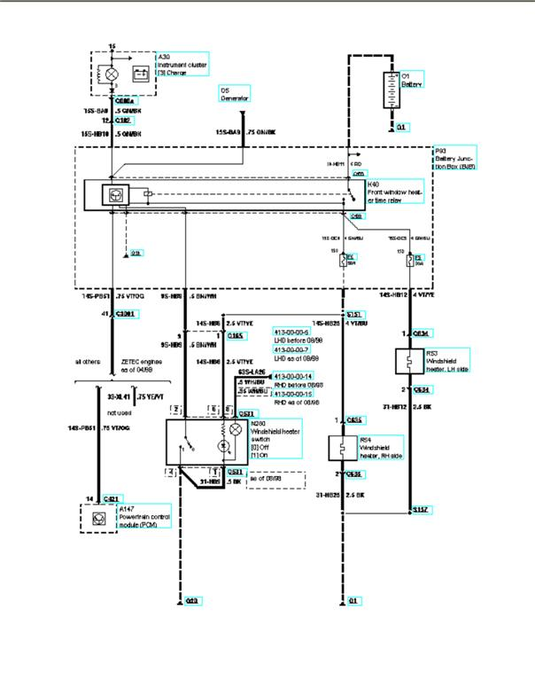 mondeo wiring diagram zt 8913  ford ka heater control wiring diagram wiring diagram  ford ka heater control wiring diagram