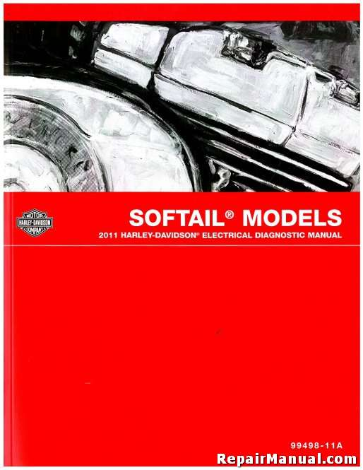 Astonishing 2011 Harley Davidson Softail Motorcycle Electrical Diagnostic Manual Wiring Cloud Cranvenetmohammedshrineorg