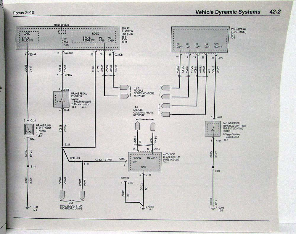 Diagram  2006 Ford Focus Workshop Wiring Diagram Full