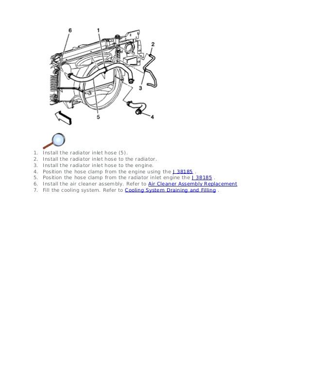 GM OEM Cooling Fan-Radiator Lower Shroud 15751221 Fans & Kits ...
