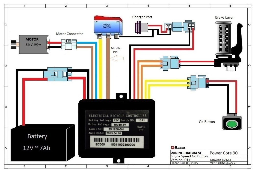 Razor E100 Scooter Wiring Diagram -1999 Crown Vic Fuse Diagram Free  Download | Begeboy Wiring Diagram SourceBegeboy Wiring Diagram Source