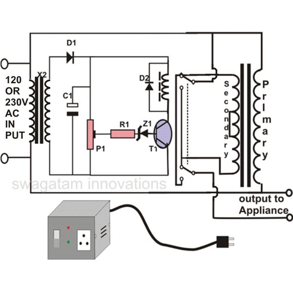 Surprising How To Make An Automatic Voltage Stabilizer Circuit Construction Wiring Cloud Itislusmarecoveryedborg