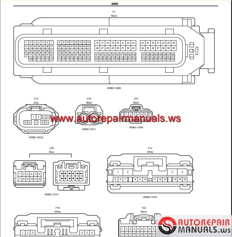 toyota highlander wiring schematics ag 9421  prado electrical wiring diagram get free image about  prado electrical wiring diagram
