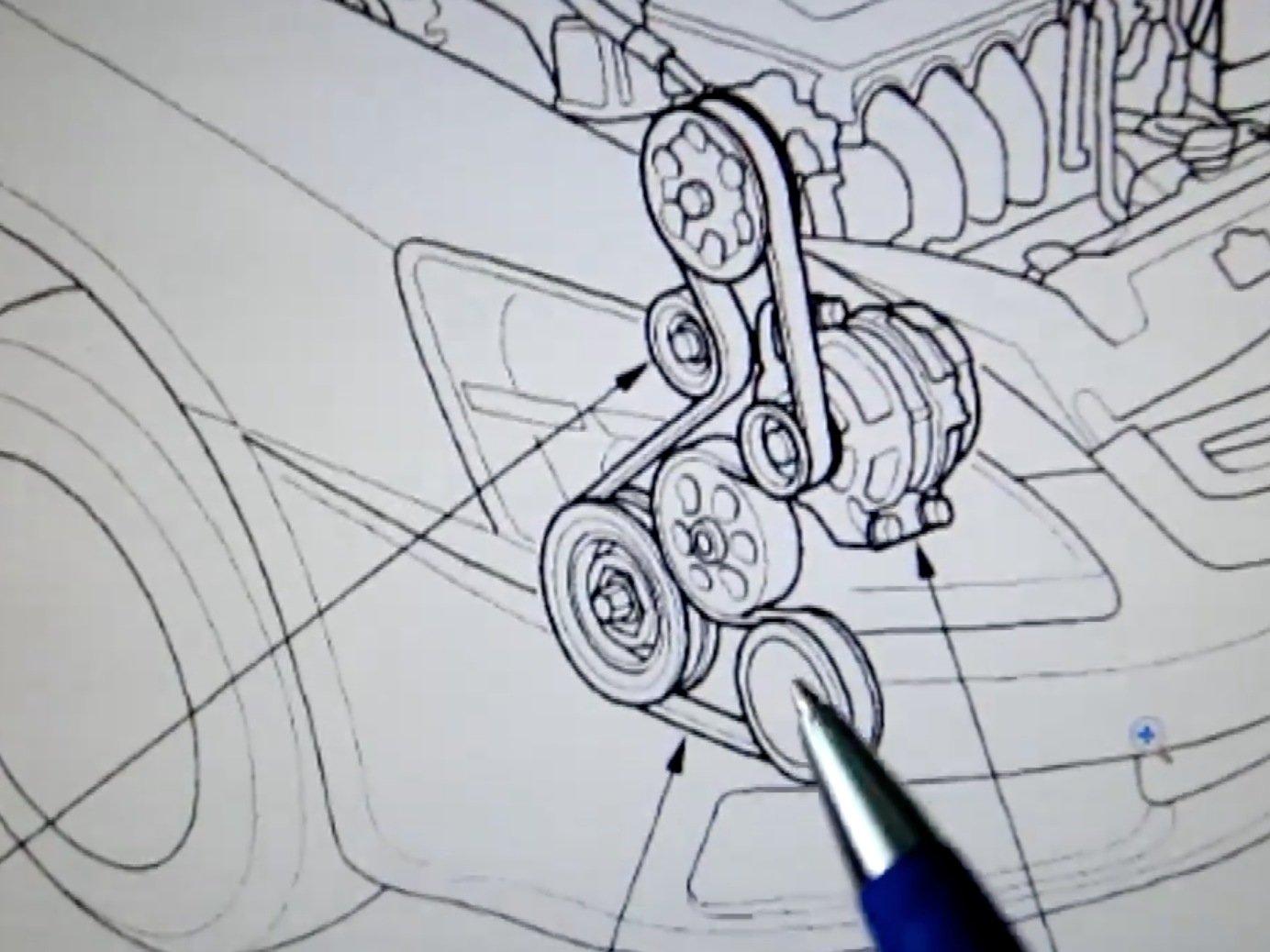 Excellent Serpintine Belt Diagram 1992 Honda Accord Engine General Wiring Wiring Cloud Grayisramohammedshrineorg