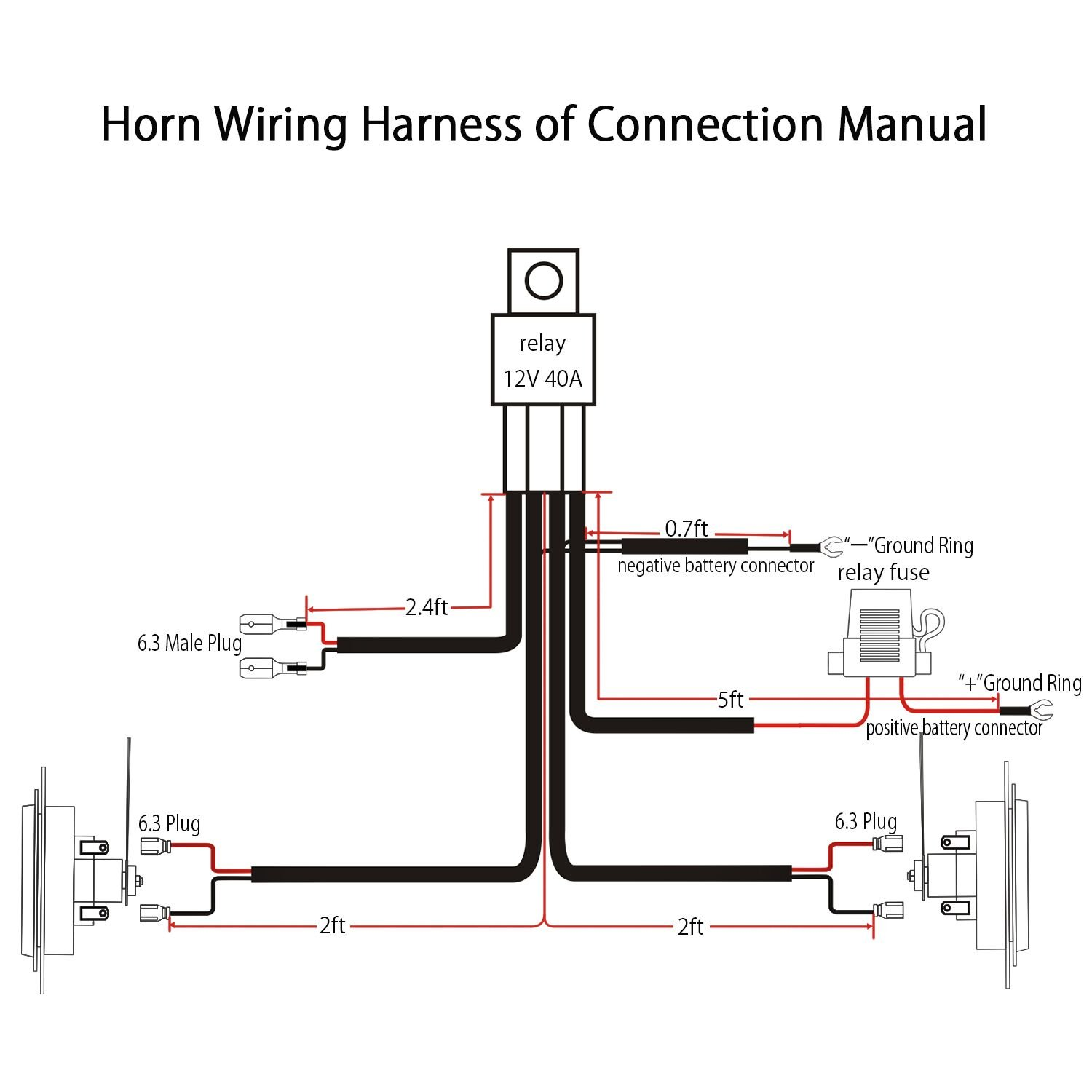 mh_2078] horn relay wiring diagram positive ground free diagram  alia caci ation over sapre ginia mohammedshrine librar wiring 101
