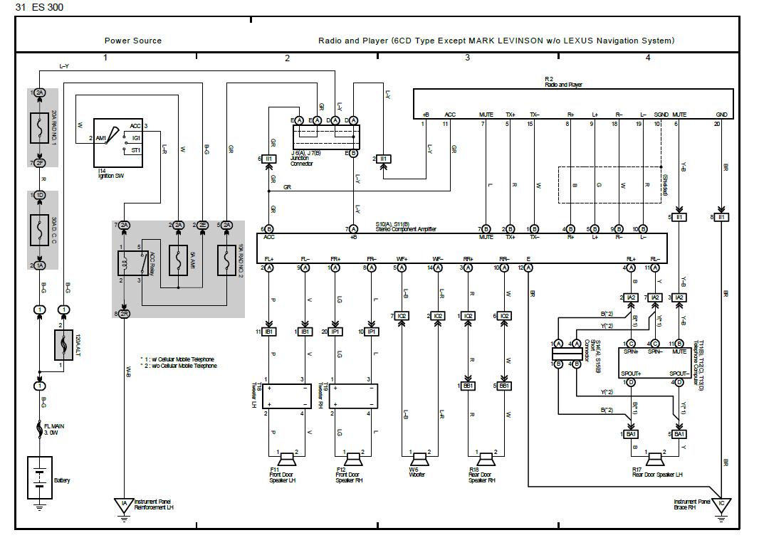 Lexus Ls430 Mark Levinson Wiring Diagram