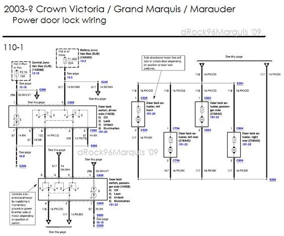 2006 Mercury Grand Marquis Radio Wiring Diagram
