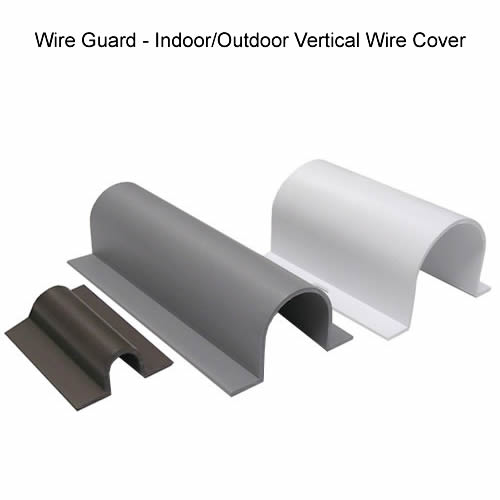 Pleasant Wire Guard Indoor Outdoor Cable Covers Cableorganizer Com Wiring Cloud Itislusmarecoveryedborg