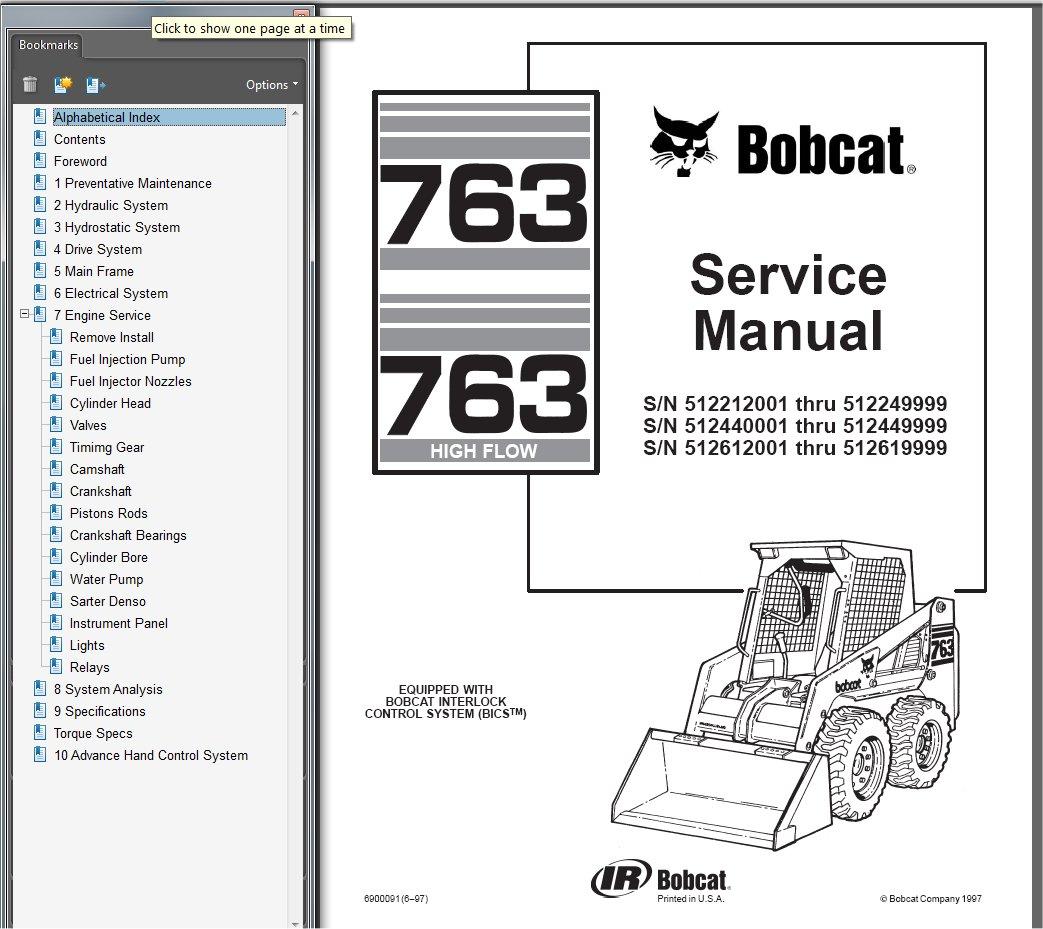 Enjoyable Bobcat 763 Parts Diagram Wiring Diagram Read Wiring Cloud Hemtshollocom