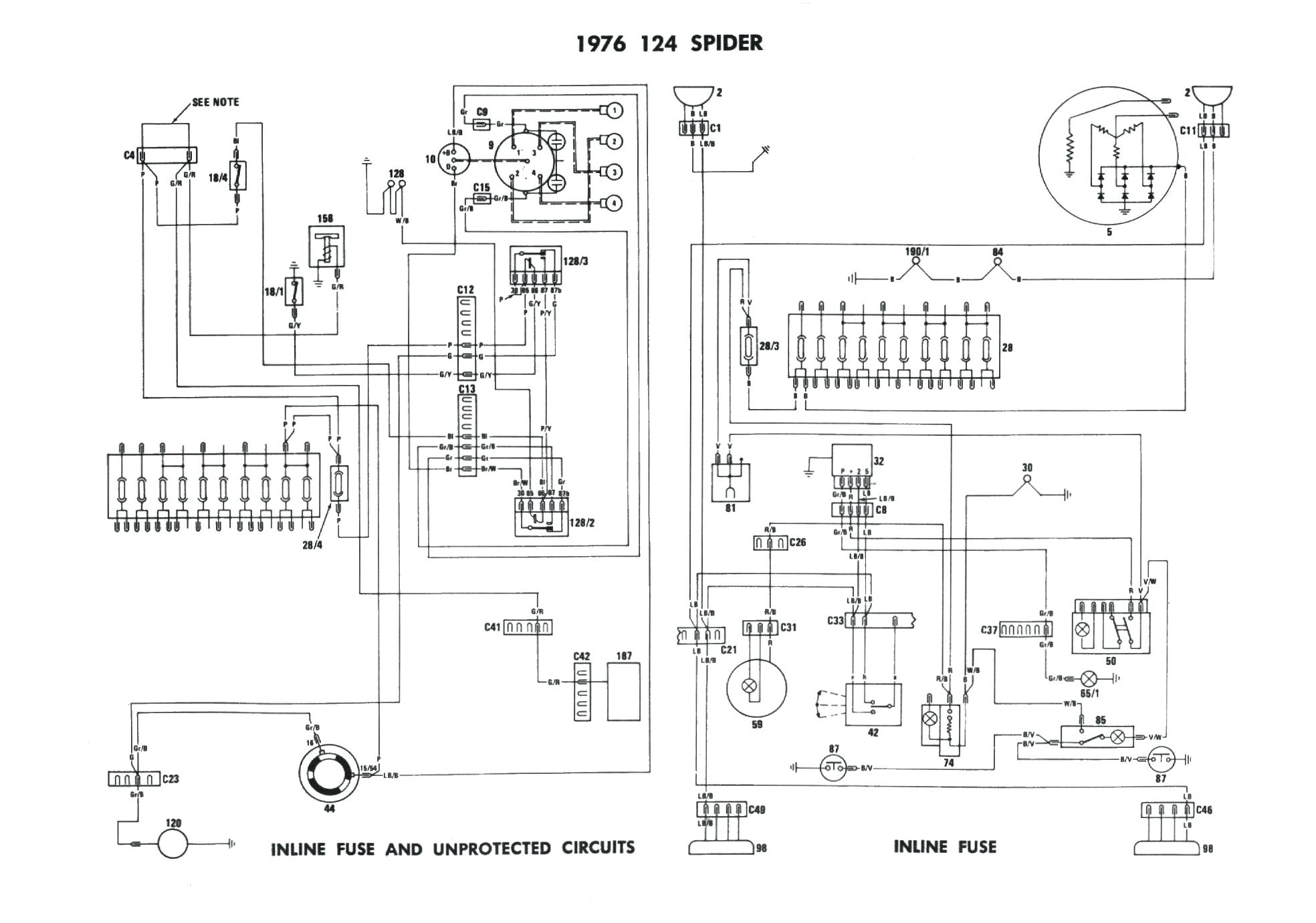4EO_172] 1973 Fiat 128 Sedan Wiring | power-advantage wiring diagram option  | power-advantage.confort-satisfaction.fr