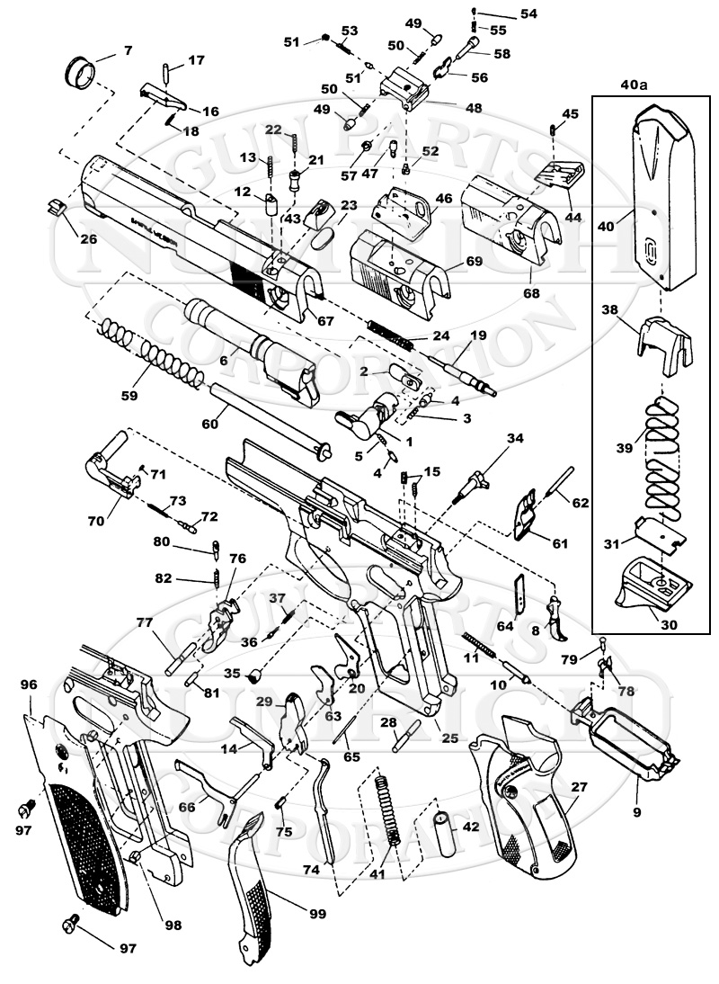 Prime Pistol Barrel Diagram Furthermore Colt 1911 Parts Diagram Wiring Cloud Apomsimijknierdonabenoleattemohammedshrineorg