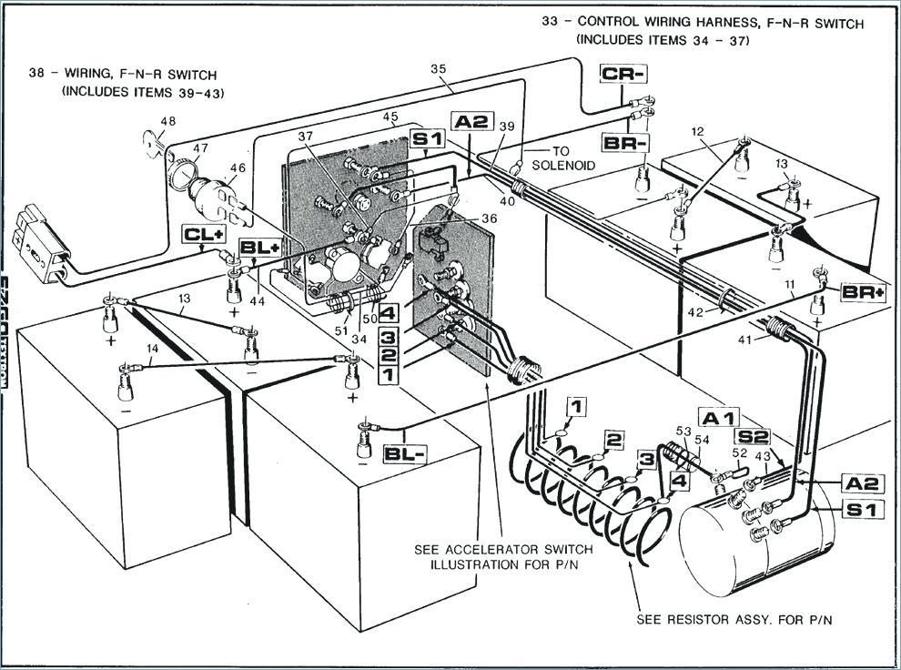 Melex 412 Wiring Diagram