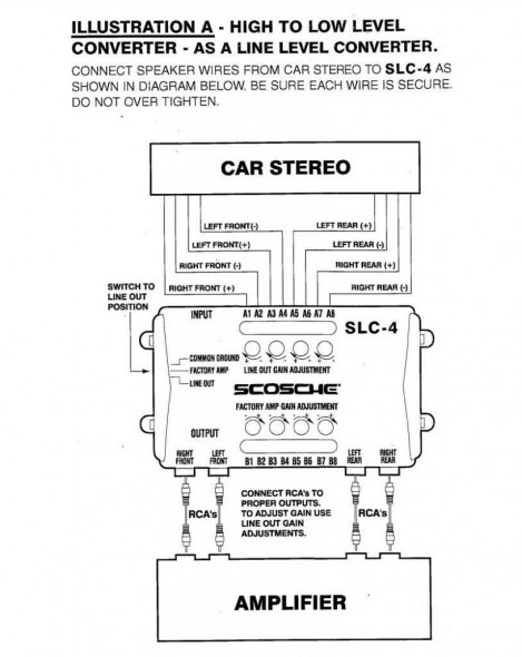 go4241 line output converter wiring diagram wiring diagram