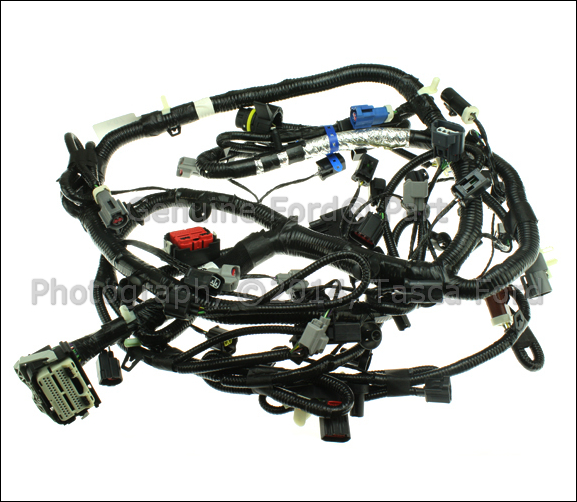 Fine New Oem 4 6L Engine Wiring Harness Ford Explorer Sport Trac Mercury Wiring Cloud Ostrrenstrafr09Org