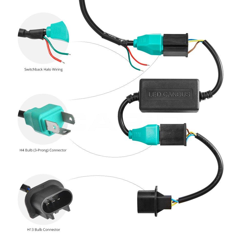 Nv 7393  Halo Headlight Wiring Diagram Free Diagram