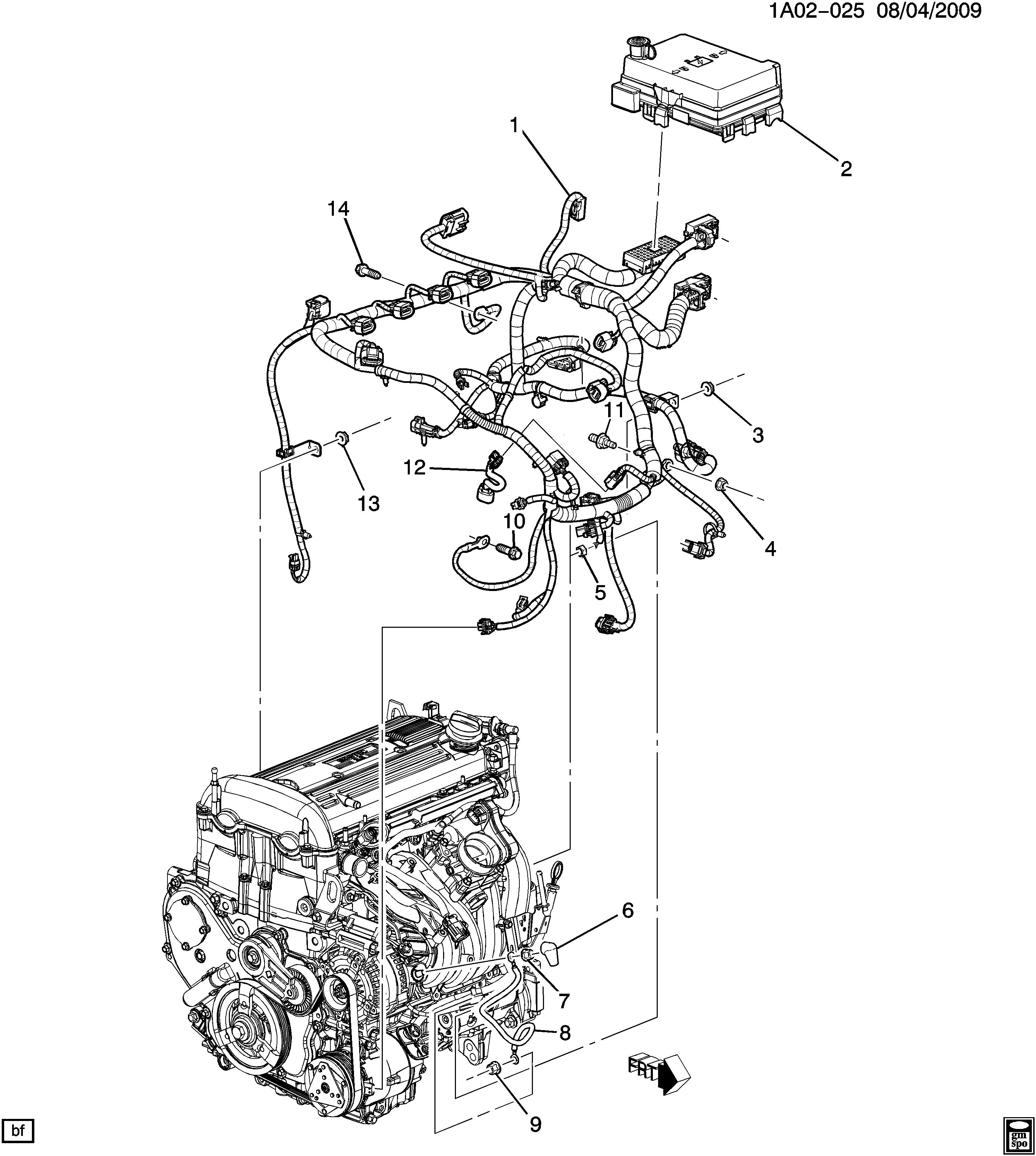 2007 Chevrolet Cobalt Wiring Diagram