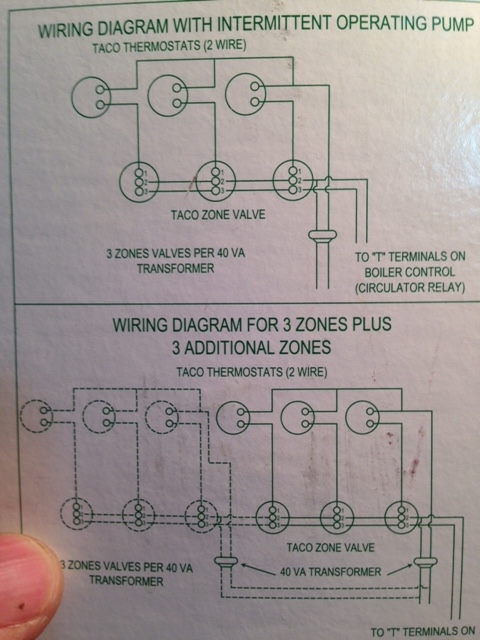 Astounding Run A C Wire To 2 On A Taco Valve Other Location Heating Help Wiring Cloud Intelaidewilluminateatxorg