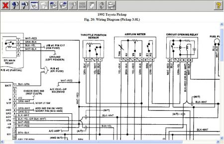 92 toyota pickup wiring harness - wiring diagram crop-ware -  crop-ware.cinemamanzonicasarano.it  cinemamanzonicasarano.it