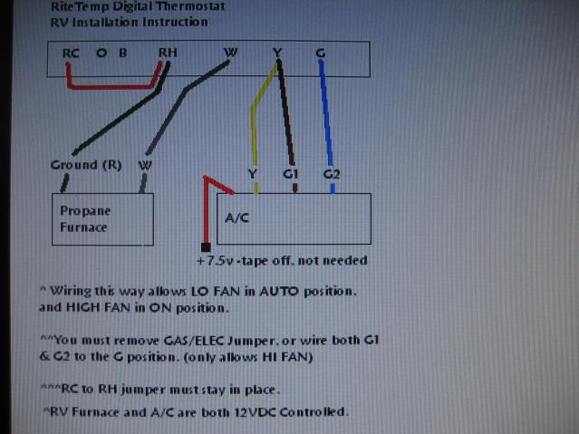 rv thermostat wiring diagram  wiring diagram for rs485  vw
