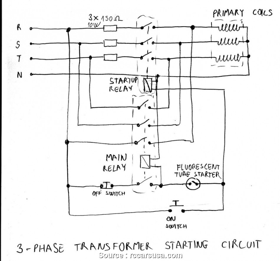 3 Phase On Off Switch Wiring Diagram