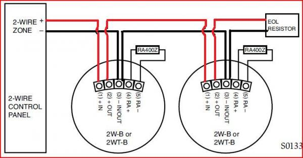 2wire smoke detector wiring diagram  kandi 110 go kart