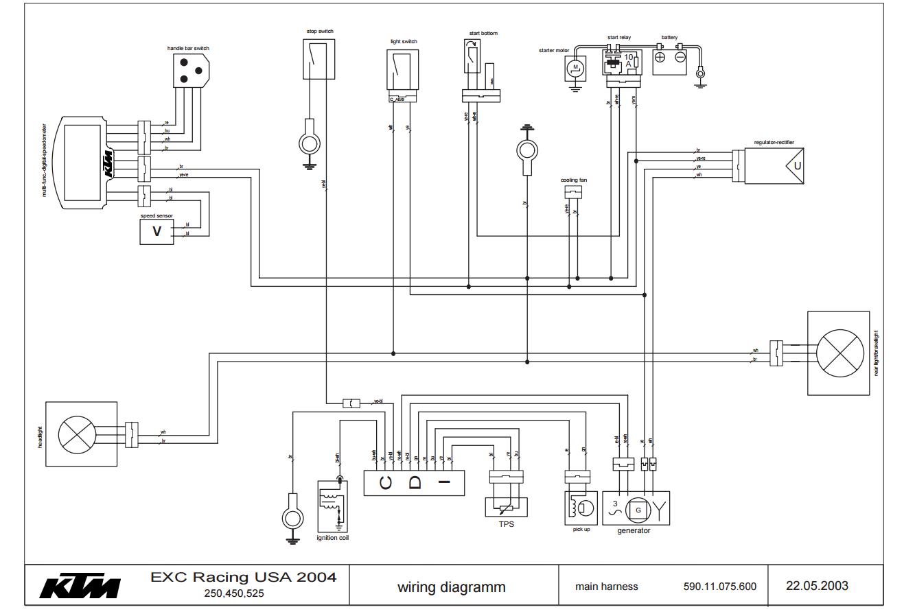1994 Ktm Wiring Diagram Wiring Diagram Motor Motor Frankmotors Es