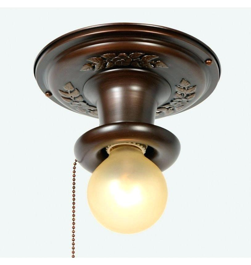 Closet Light Fixture With Pull Chain