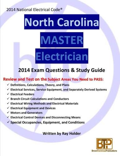 Wondrous North Carolina 2014 Master Electrician Study Guide Brown Publications Wiring Cloud Waroletkolfr09Org