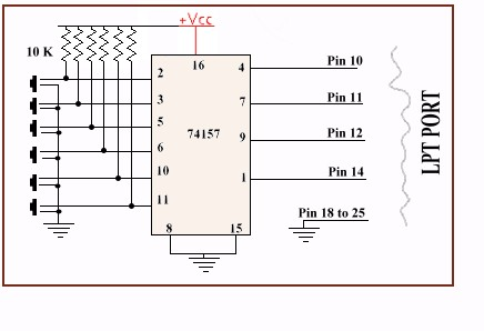 Admirable Pc Based Quiz Buzzer Electronics Project Using Parallel Port Wiring Cloud Monangrecoveryedborg