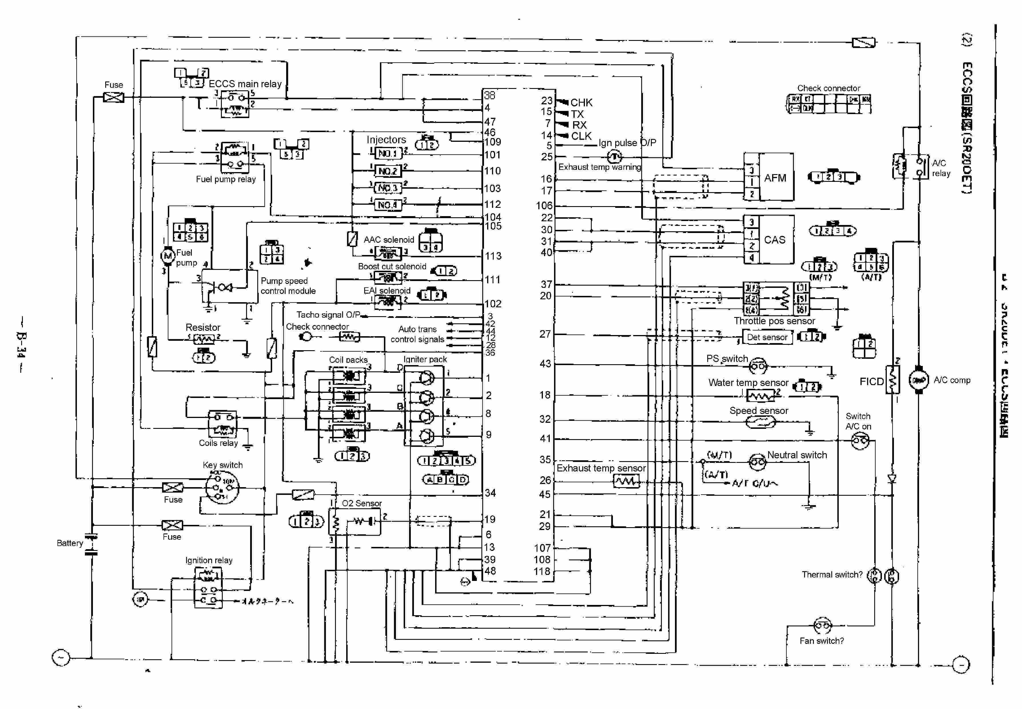 Nissan Sr20det English Wiring Diagram