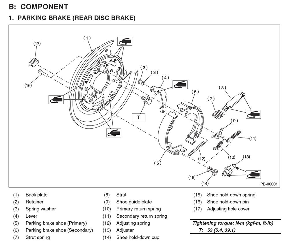 Pleasing Diy Parking Brake Assembly Rebuild Nasioc Wiring Cloud Rineaidewilluminateatxorg
