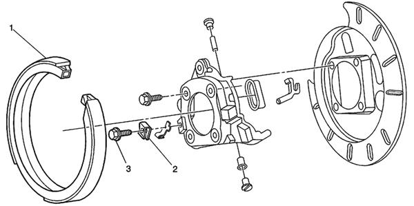 Xz 1874  Chevys10rearbrakediagram Drum Brake Diagram For