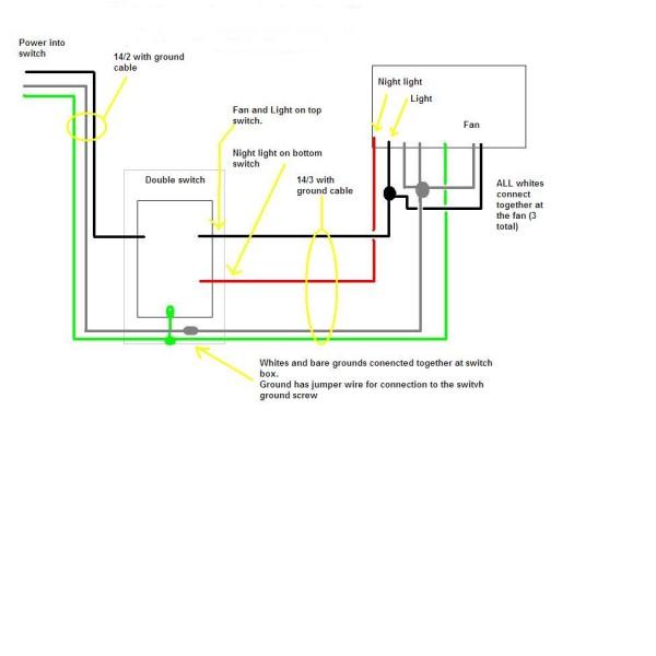 Wf 4640 Wiring Bathroom Fan Light Combo Free Diagram