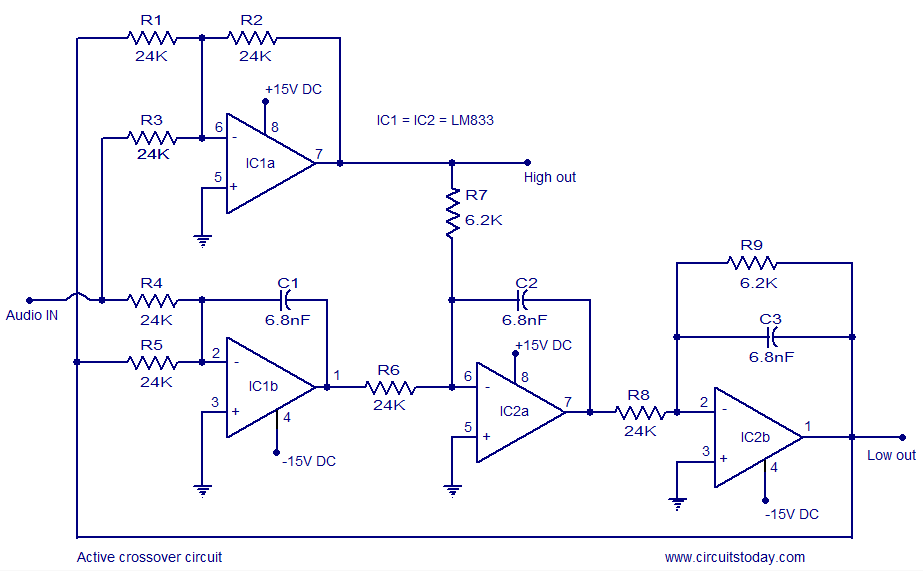 Enjoyable Active Crossover Circuit Schematic Design And Diagram Wiring Cloud Ittabpendurdonanfuldomelitekicepsianuembamohammedshrineorg