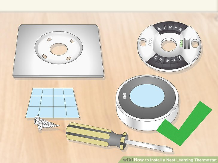 Awe Inspiring How To Install A Nest Learning Thermostat With Pictures Wiring Cloud Intelaidewilluminateatxorg