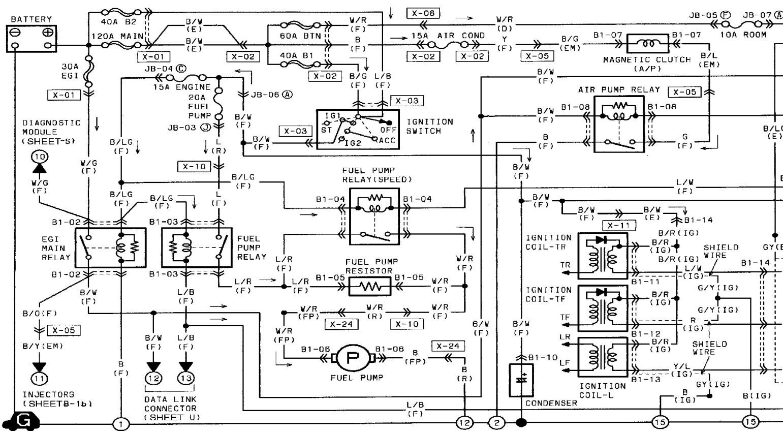 sk_6416] 1990 mazda rx7 wiring diagram manual original rx7 schematic wiring  lexor lous bemua kargi vish skat peted phae mohammedshrine librar wiring 101