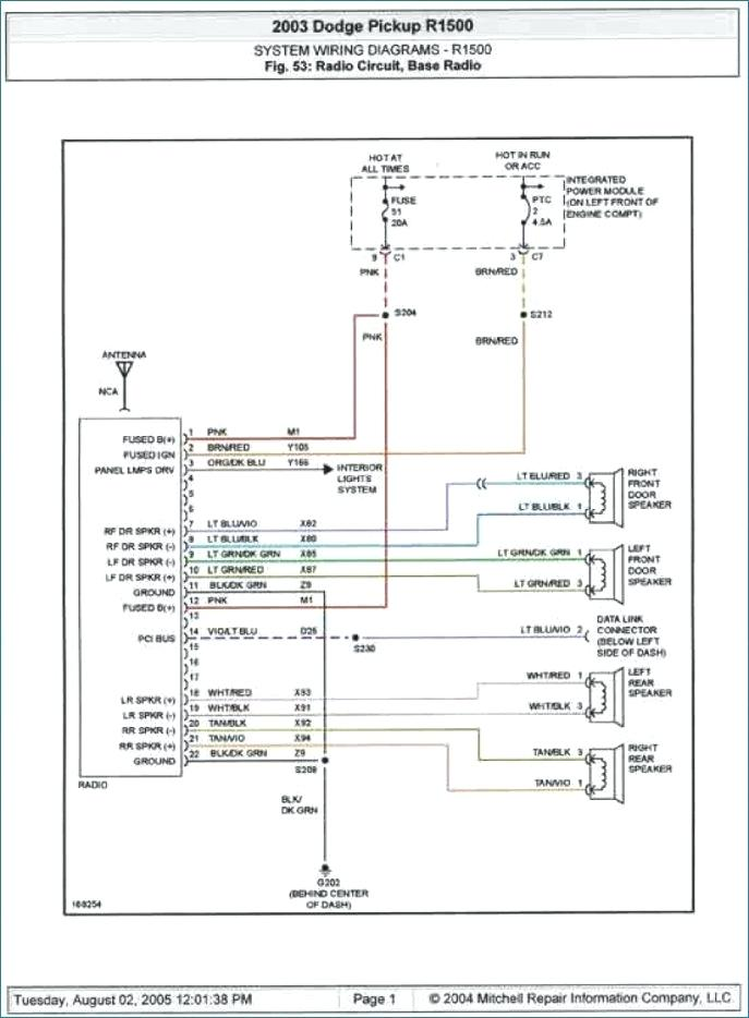2001 Dodge Neon Stereo Wiring Diagram - Database - Wiring ...