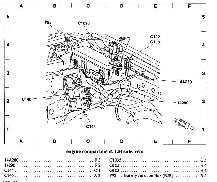 2001 ford ranger starter wiring  1972 cadillac eldorado