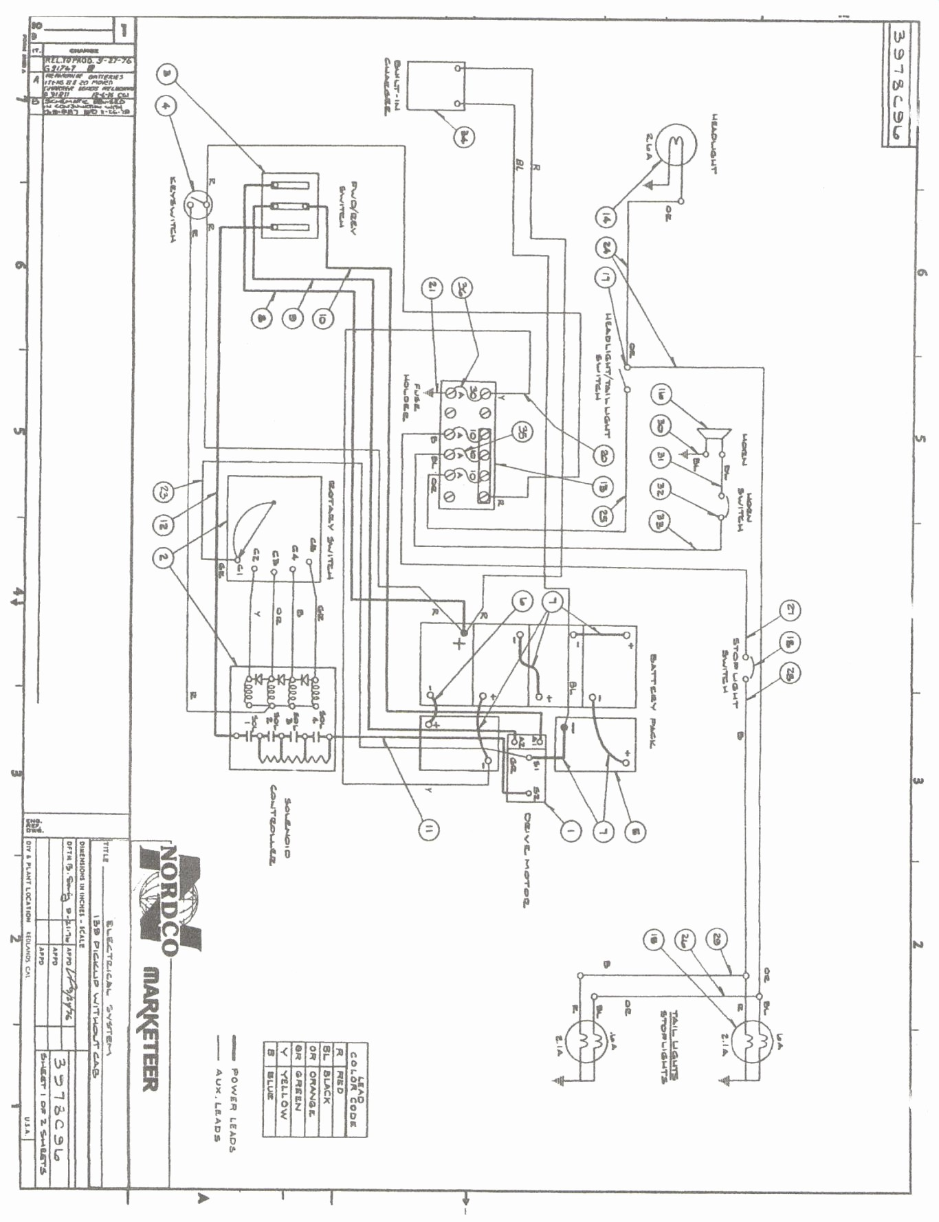 1987 Ez Go Gas Golf Cart Wiring Diagram - Wiring Diagram