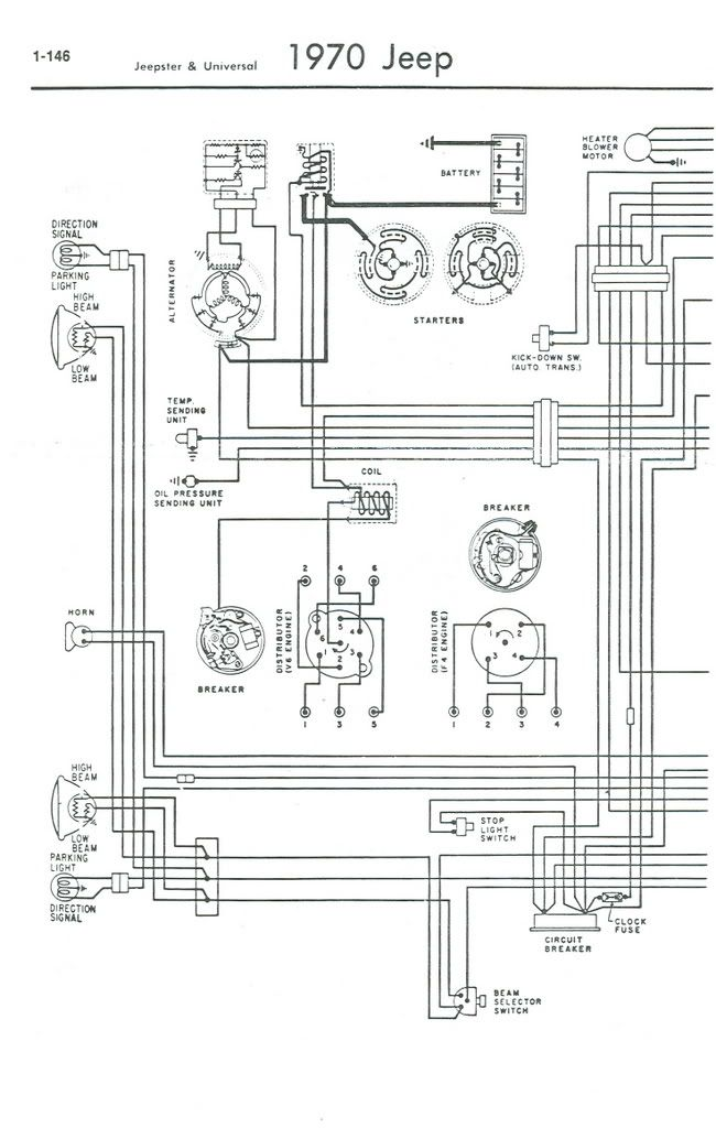 1975 Cj 5 Fuse Box Diagram