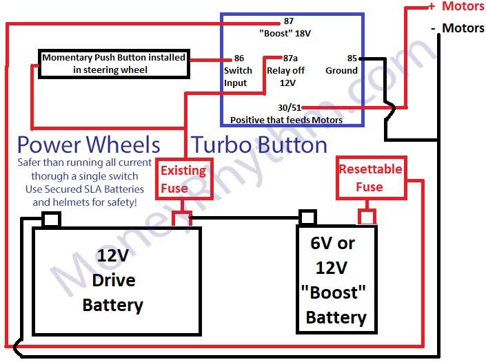 Power Wheels F150 Wiring Diagram