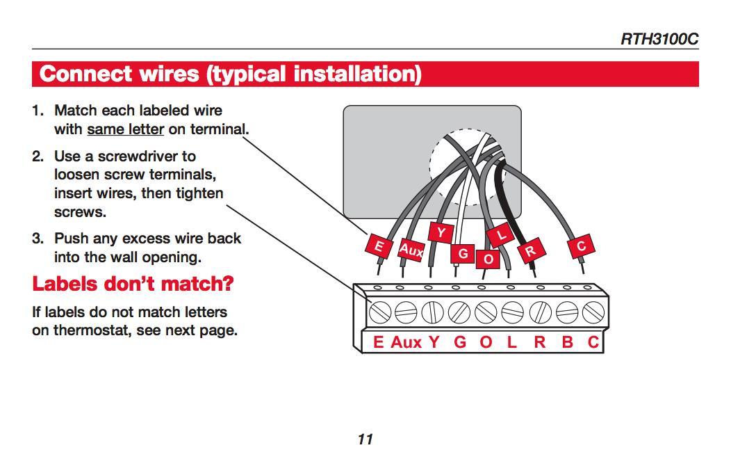 Stupendous How Wire A Honeywell Room Thermostat Honeywell Thermostat Wiring Wiring Cloud Histehirlexornumapkesianilluminateatxorg
