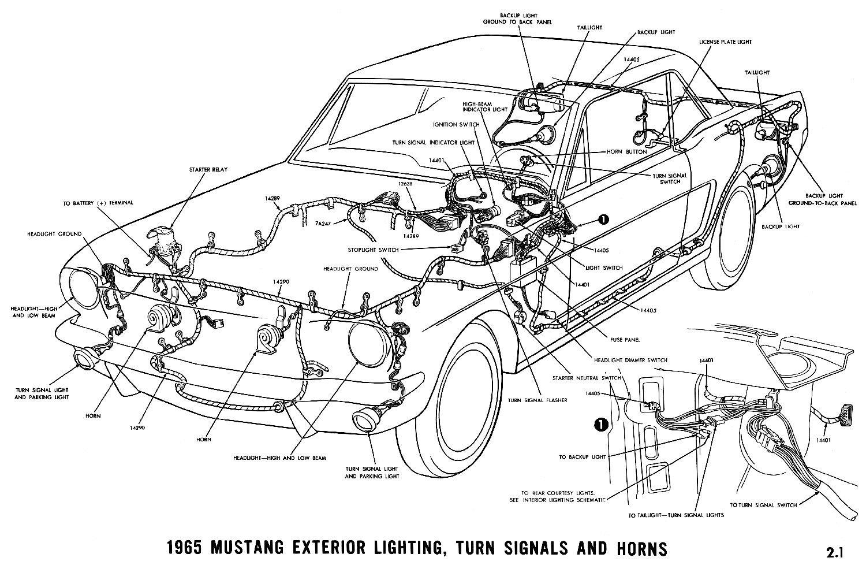 1965 Mustang Wiring Harness