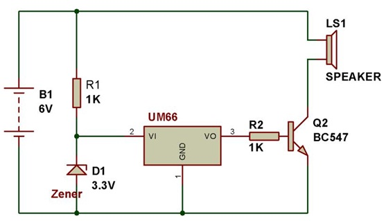 Superb How To Use Um66 Or Bt66 Musical Ic Buildcircuit Electronics Wiring Cloud Licukaidewilluminateatxorg