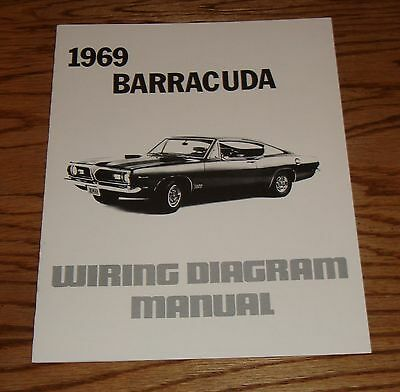 Swell 1969 Plymouth Barracuda Wiring Diagram Manual 69 Ebay Wiring Cloud Inklaidewilluminateatxorg